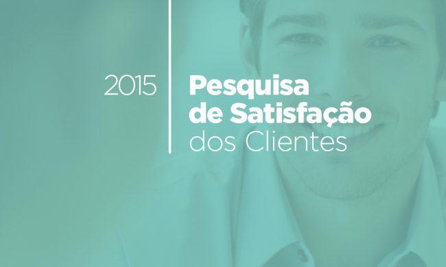 Pesquisa de Satisfação 2015