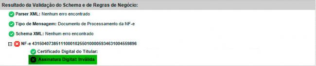 Como usar o validador online da SEFAZ