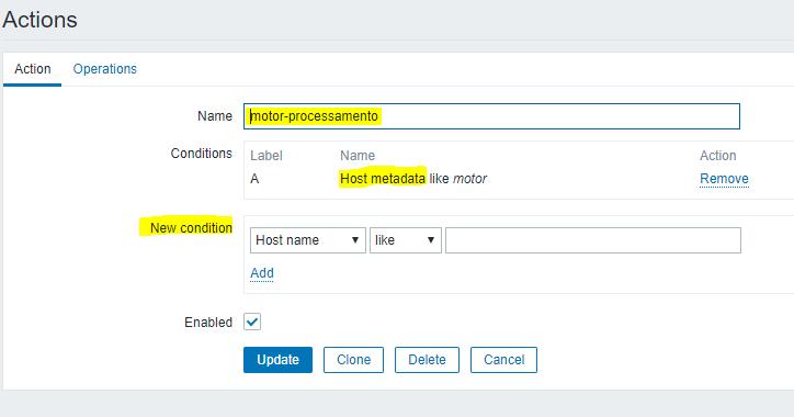 Aplicação de Auto Registration no Zabbix