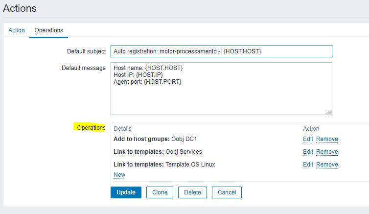 O serviço é capaz de utilizar esse Discovery automaticamente porque já foi configurado e estruturado para Auto Registration adicionar o template de serviços (oobj services). Veja o exemplo: