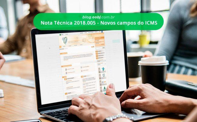 nota tecnica novos campos icms